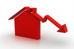 house price fall