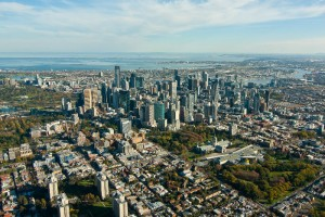 Melbourne - ariel