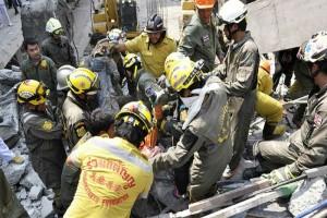 Thai building collapse