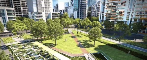 Green Square offers a live, work, play precinct