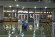 lobby flooding