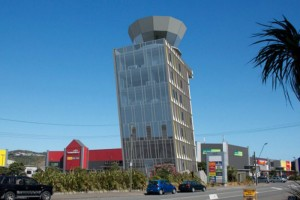 Wellington aiport tower to lean into wind