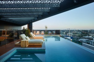 roof top lounge