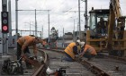 v line train track