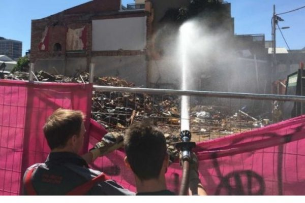 MFB Called to Douse Asbestos at Melbourne Pub Site
