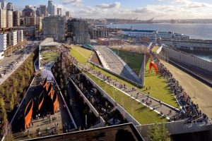 The Olympic Sculpture Park is the Seattle