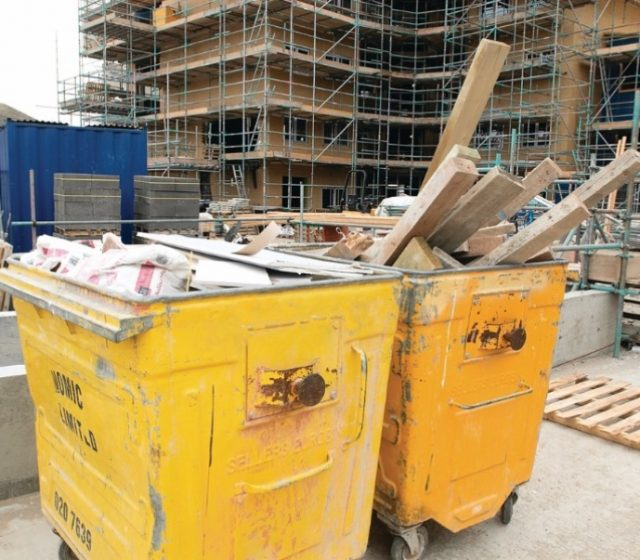 Reducing Waste on Construction Sites