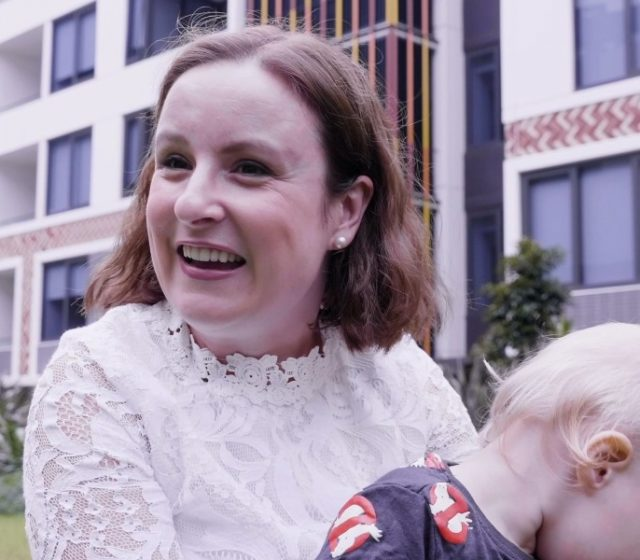 Apartment Dwellers Sing Multi-Story Living Praises