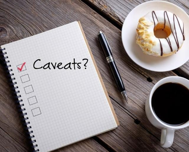 Caveats on Property and What They Really Mean
