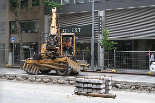 Victoria Slugs Melbourne Builders Who Block Roads