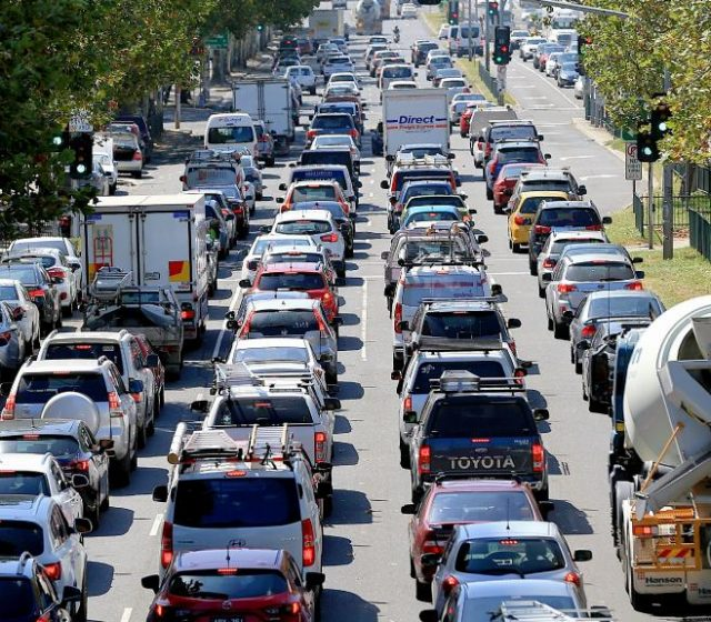 We can't build our way out of traffic congestion