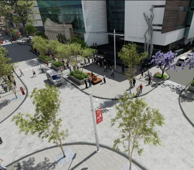 Work Starts on WA's First Pedestrian Priority Precinct