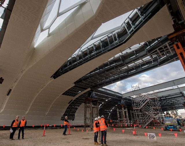 Huge New Roof Will Transform Australia's Busiest Train Station